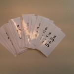 Carte per giochi didattici