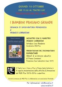 Franco Lorenzoni a Pisa 2